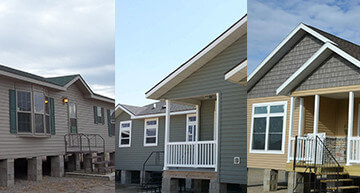 Collage of Modular / Manufactured Homes - View Inventory
